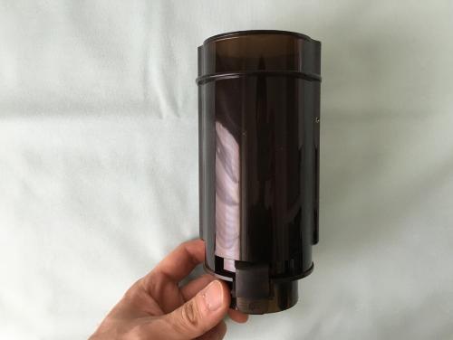 A10サイクロンSAの専用オナホールを装着するカップ