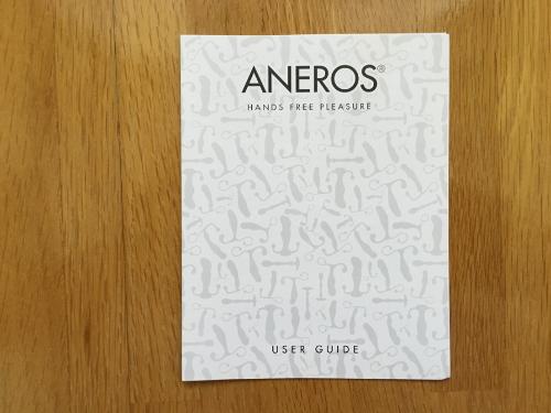 アネロスSGXの説明書
