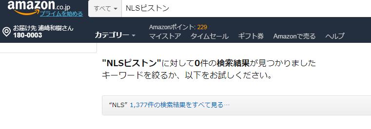 NLSピストンアマゾン